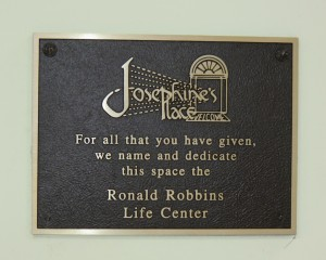 Ronald Robbins Life Center Dedication